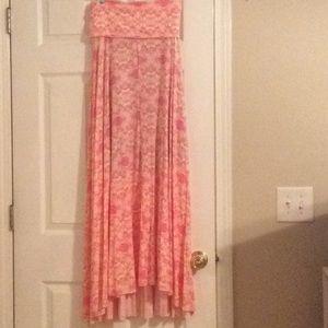 NEW VICTORIA'S SECRET WEAR 2-WAY MAXI DRESS, M